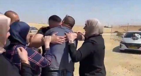 أم الفحم: الأسير محمد محاجنة يعانق الحرية