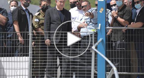 نتنياهو يصل موقع الحادث في الجرمق-ميرون:
