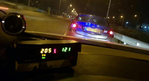 الشرطة تحرر اكثر من 800 مخالفة مرورية عن سرعة فائقة