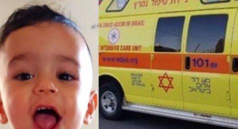 وفاة الطفل الذي غرق في دلو ماء بحورة .. جلال أبو القيعان!
