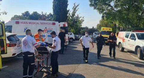 انفجار صهريج الكلور في بركة كفار هفرديم: اصابة 35 شخصا جراء استنشاق بخار الكلور