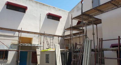 الناصرة: ترميمات وتطوير في المباني المدرسية تحضراً للسنة الدراسية الجديدة