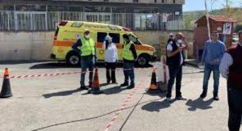 سخنين بلدة حمراء بعد تسجيل 96 إصابة بالكورونا