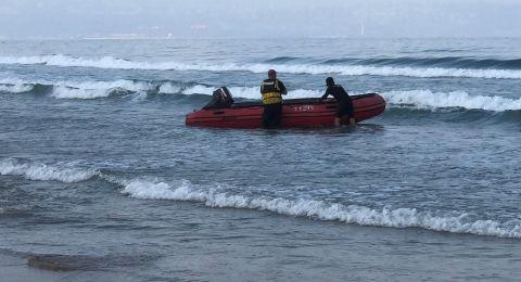 يافا: اعمال بحث عن شخص  فقدت اثاره في شاطئ