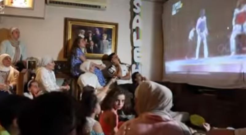 شاهد.. كيف احتفلت عائلة الأردني الشرباتي بإنجازه التاريخي في أولمبياد طوكيو