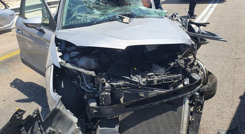 مصرع شخص واصابة 6 اشخاص في حادث طرق في العرابا