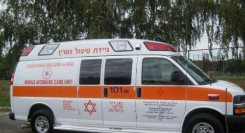 إصابتان بحادث طرق قرب طبريا