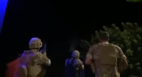 فيديو: لحظة إطلاق الجيش اللبناني النار على الطائرات المسيرة الإسرائيلية