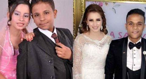 أصغر عروسَيْن في مصر إلى
