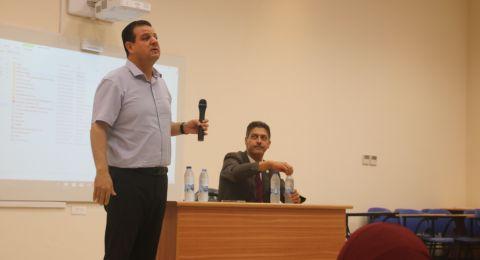 جنين: اجتماع للنائب أيمن عودة مع طلبة العلاج الوظيفي والطبيعي