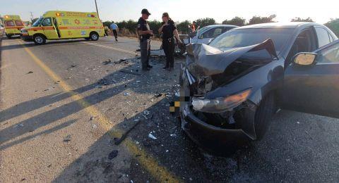الزرازير: حادث طرق صعب وعشر اصابات