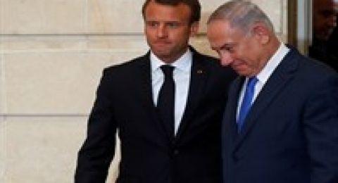 نتنياهو لماكرون: الوقت ليس مناسبا للتفاوض مع إيران