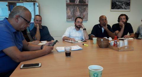 منظمة الصيادين تعقد الاجتماعات وتوسع الشراكات لتعزيز النضال