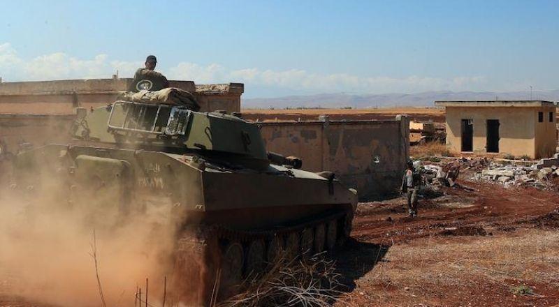 الجيش السوري يسيطر على ناحية