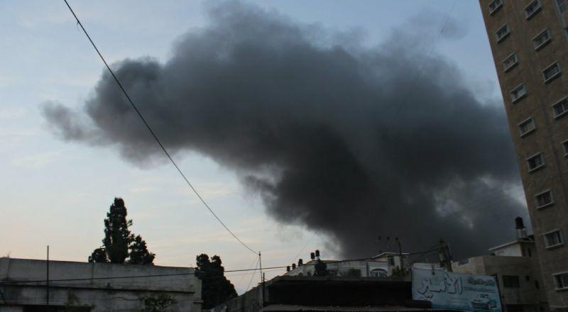 سماع ذوي انفجار.. اطلاق صاروخ من غزة باتجاه الغلاف وصفارات الانذار تدوي