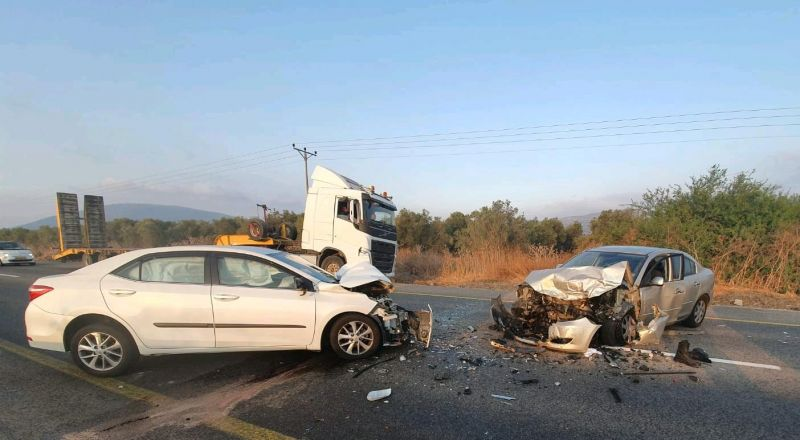 اصابتان بحادث طرق قرب كفار تافور (مسحة)