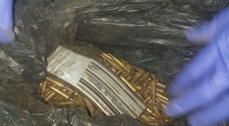 الشرطة تعثر على الاف الطلقات النارية في ام الفحم