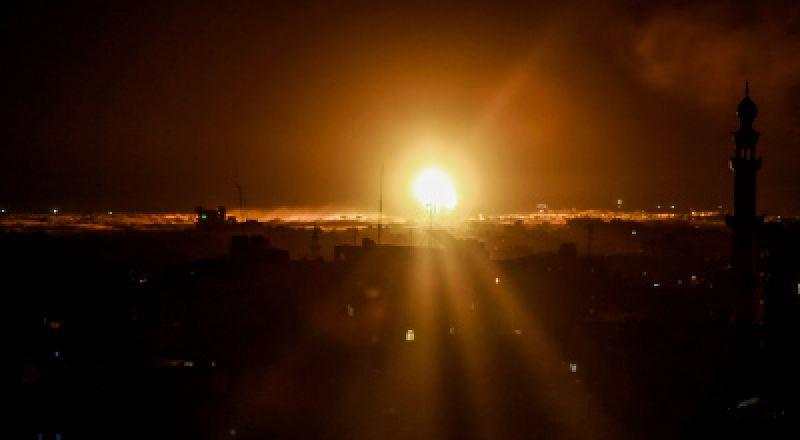 قصف إسرائيلي شمال قطاع غزة فجر اليوم