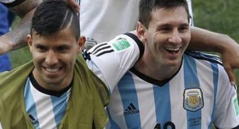 الأرجنتين تستعد للبرازيل وكولومبيا بدون ميسي وأجويرو