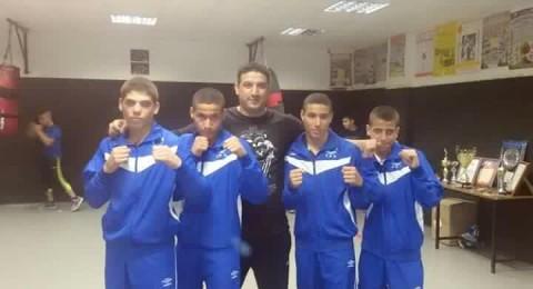 اربعة ملاكمين نصراويين سيشاركون في بطولة اوروبا.