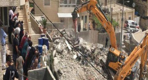 رقمٌ قياسيٌّ جديدٌ في عمليات هدم المنازل في شرقيّ القدس للعام 2020