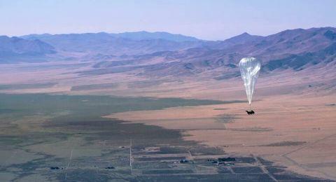 منطاد غوغل لبث الإنترنت علق في الهواء 312 يوما