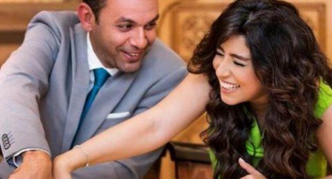 برسالة غرامية.. (آيتن عامر) تتغزل في زوجها محمد عز العرب