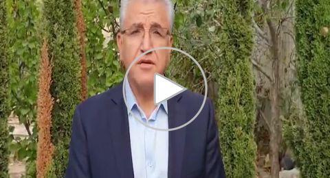د. سلمان زرقا يناشد أهل مجدل شمس المحافظة على التعليمات: تذكروا أن بلدكم حمراء
