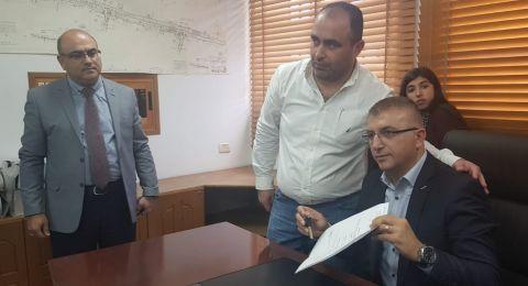 الجديدة المكر: سهيل ملحم يتسلم رئاسة المجلس