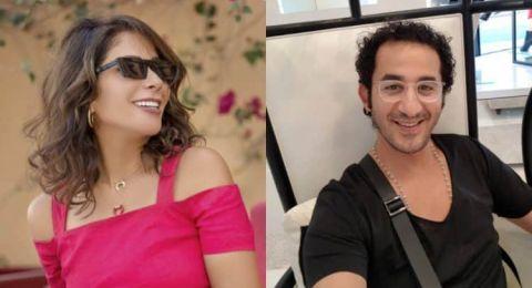 أحمد حلمي ومنى زكي يحتفلان بعيد ميلادهما وسط النّجوم..
