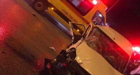 3 إصابات بحادث مروع قرب مطار اللد و 11 إصابة بحادث آخر قرب شفاعمرو