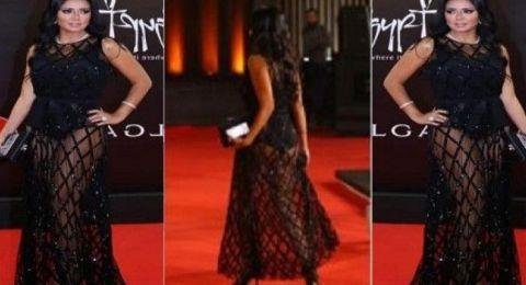 رانيا يوسف تعلق على فستانها المثير للجدل.. وأول إجراء رسمي بحقها!