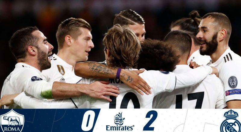 ابرز احداث الامس:ريال مدريد يُسقط روما ويتأهلان.. فوز مانشستر يونايتد ويوفنتوس