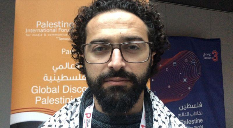 المخرج نورس أبو صالح لـبكرا: السينما الفلسطينيّة بحاجة الى دعم
