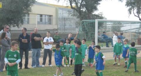 مكابي حيفا تنظم مباريات خاصة لمتابعة اداء لاعبي مدارسها
