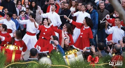 مجموعة صور جديدة من اجواء الكريسماس ماركت في الناصرة