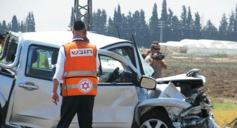تلخيص 2013: ارتفاع ثلاثة أضعاف (!) في عدد الشبان العرب الذين قتلوا في حوادث الطرق