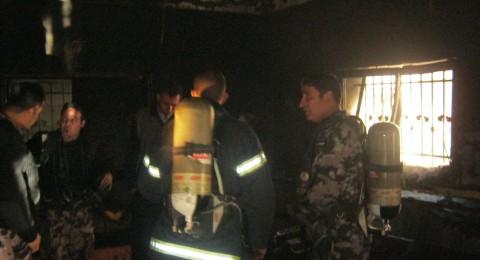 إصابة طفل بحريق منزل ذوية في مخيم الدهيشة ببيت لحم