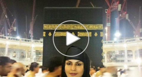 ممثلة الإغراء فينا مالك تعتزل التمثيل بعد تأديتها العمرة