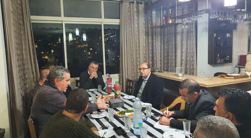 النائب سامي أبو شحادة يلتقي جمعية الدفاع عن الأوقاف الأرثوذكسية