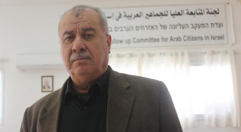 محمد بركة لبكرا: العالم العربي لا يستطيع ان يغسل يديه من دم الشعب الفلسطيني