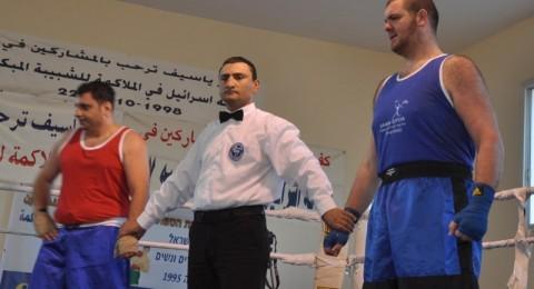 كفر ياسيف تحتضن بطولة اسرائيل لملاكمة وتكرم القنصل الروسي