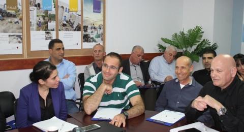 يوم دراسي يجمع  سلطة المياه القطرية واتحادات المياه العربية واليهودية في شركة مياه الجليل في مدينة سخنين