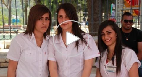 كلية صفد: طلاب التمريض يشاركون في  فعاليات يوم الصحة العالمي