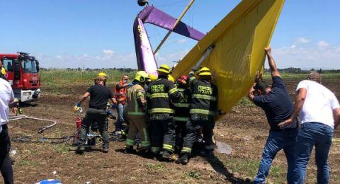 مصرع رجل اعمال إسرائيلي بحادث تحطم طائرة
