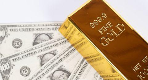 الذهب يصعد مع تراجع الدولار وترقب قرار المركزي الأمريكي