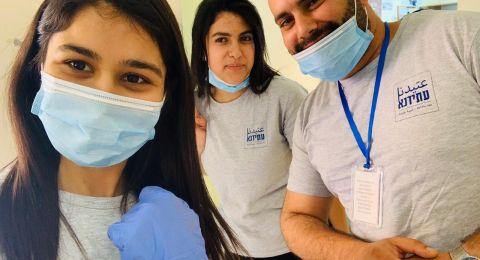 متطوعو جمعية عتيدنا يكافحون فيروس الكورونا