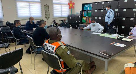 الغرفة المشتركة للطوارئ في النقب : تكاتف الجهود في حورة وتجاوب الأهالي مع قرارت الصحّة حتماً سيوقف ارتفاع الأصابات