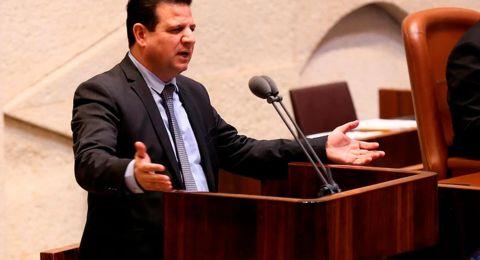 الجبهة والعربية للتغيير تمتنع عن التصويت ضد حل الكنيست!