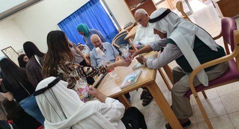 تعاون بين مسار الممتازين في كلية سخنين لتأهيل المعلمين وجمعية نعمات